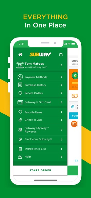 graphic about Subway Menu Printable identify SUBWAY® upon the Application Retail store