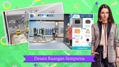 Screenshot for Design My Room: Fashion in Indonesia App Store