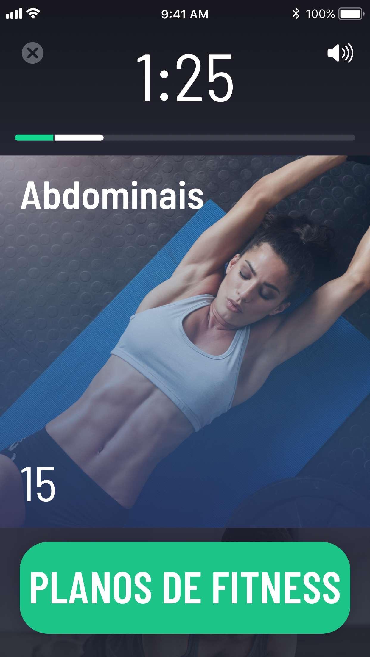 Screenshot do app Desafio 30 Dias Para Fitness