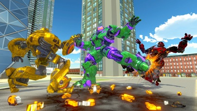 Incredible Monster Robot War screenshot two