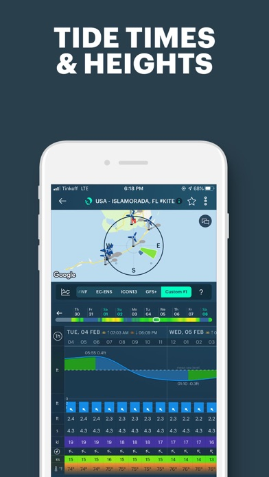 Windy: wind & weather forecast Screenshot