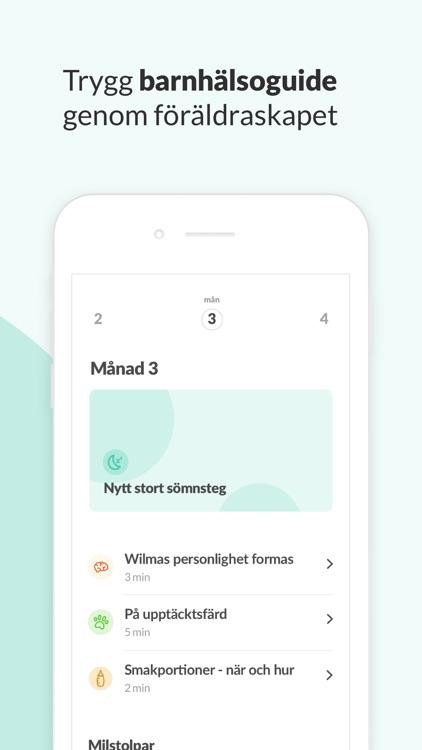 Knodd - Trygg barnhälsa & vård screenshot-4