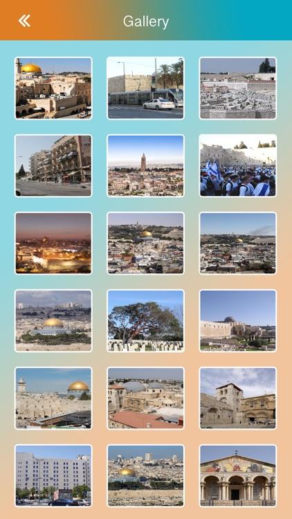 Jerusalem Offline Guide screenshot-3