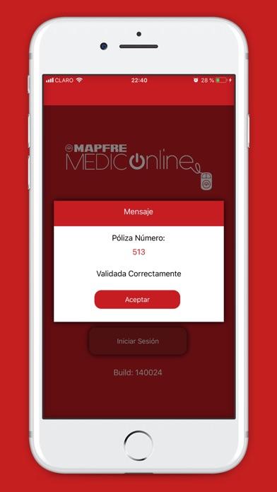 MAPFRE Medico Online screenshot two