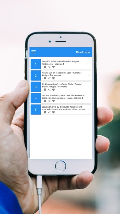 Screenshot for La Santa Biblia Español:PRO in United States App Store