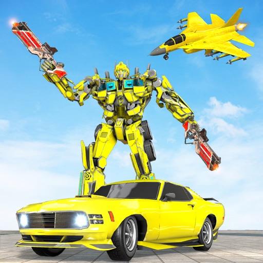 Mech Warrior Robot Airplane