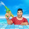 Water Shooting Nurf Battle