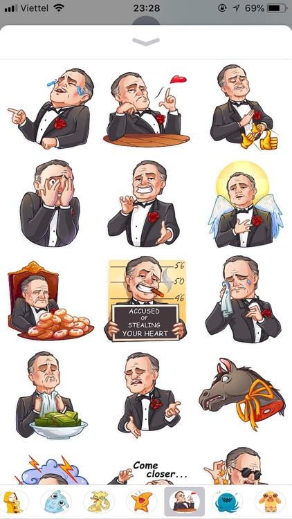 Business Style Funny Stickers