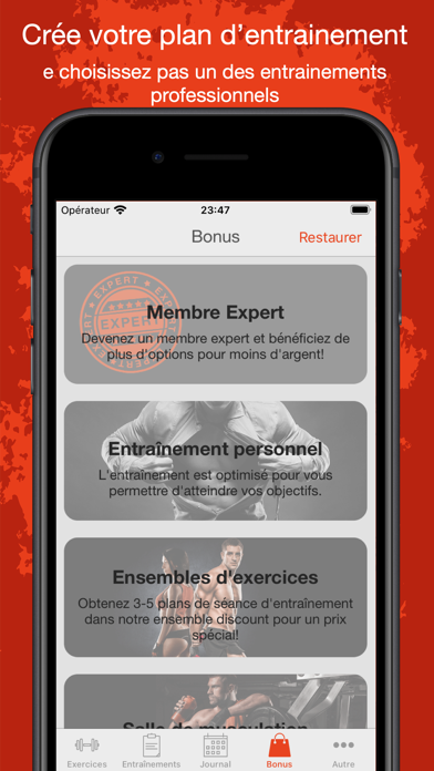 Fitness Point Pro: Gym, Maison