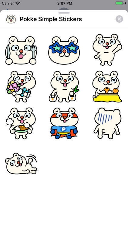 Pokke Simple Stickers