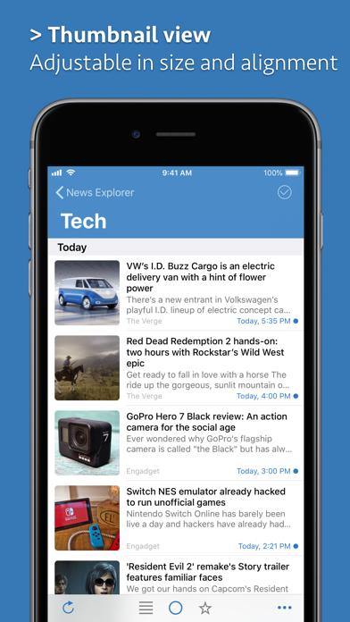 Скриншот №3 к News Explorer