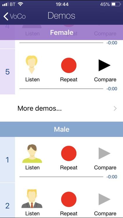 VoCo Vocal Coach screenshot-4