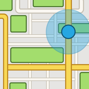 iMaps+ for Google Maps ios app
