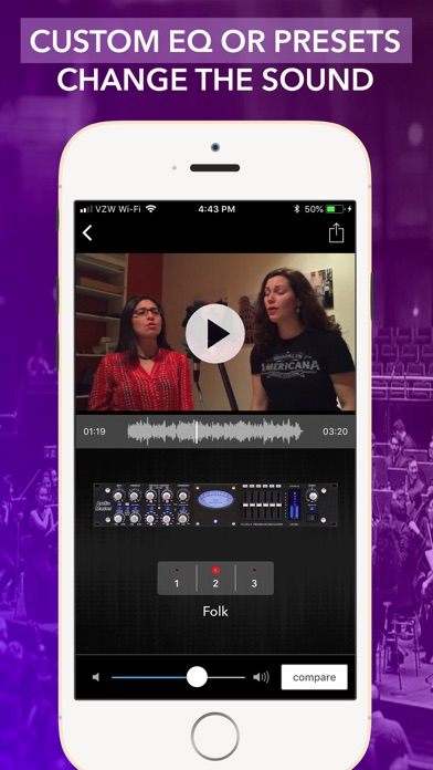 Screenshot for VideoMaster Pro: EQ For Videos in United States App Store