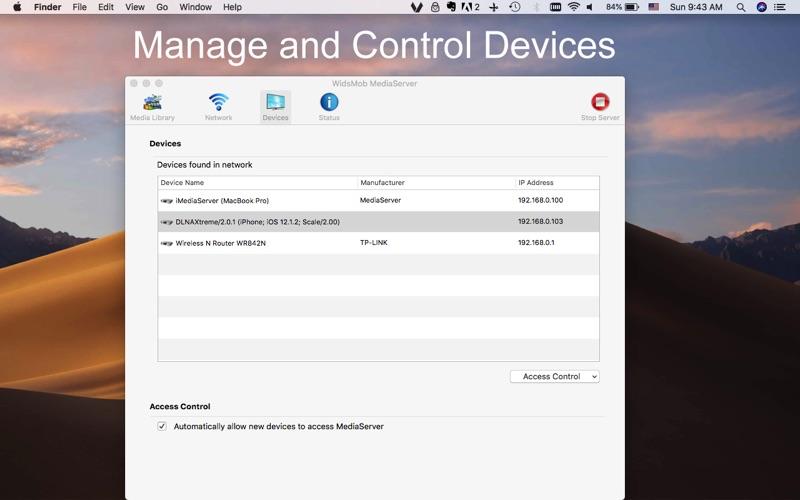 WidsMob MediaServer screenshot 3