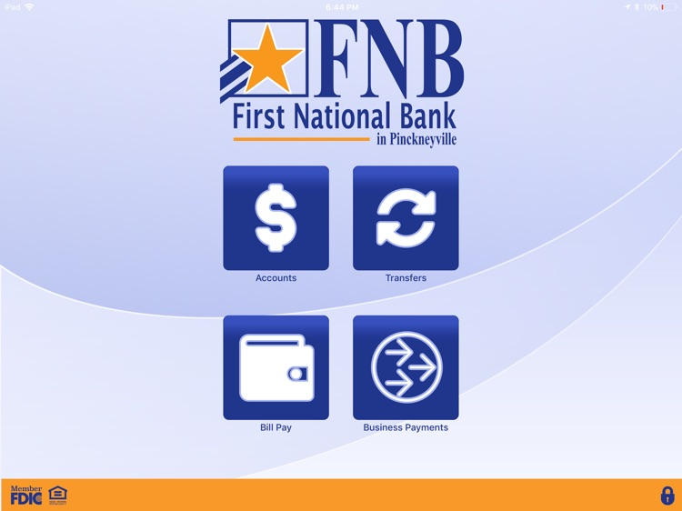 FNB Pville Business for iPad