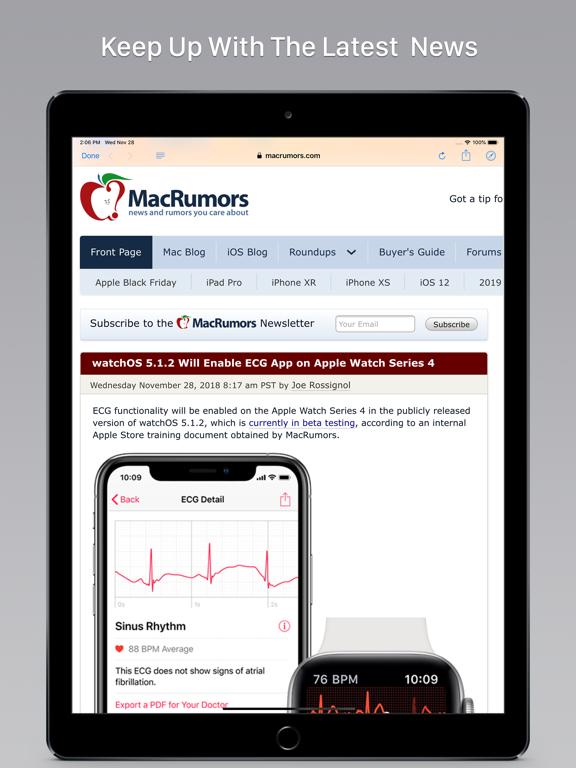 MacHash News screenshot
