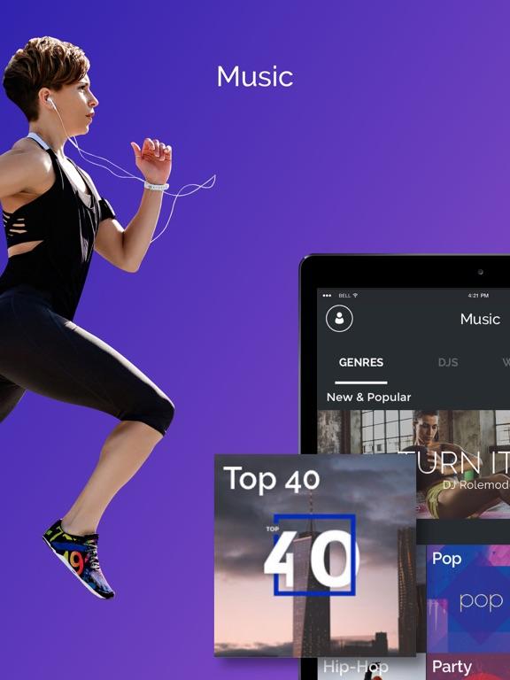 FIT Radio Workout Music screenshot