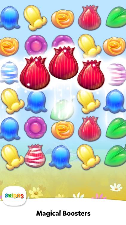 Flower Match 3 Cool Math Games