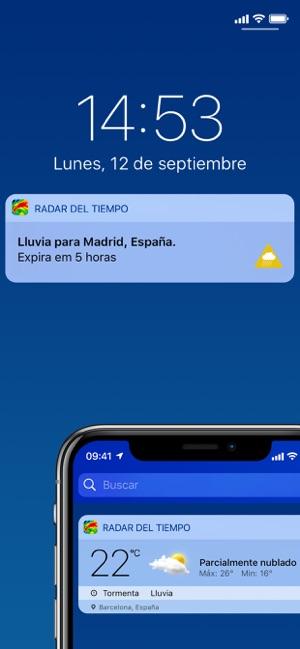 Radar Del Tiempo En Vivo En App Store