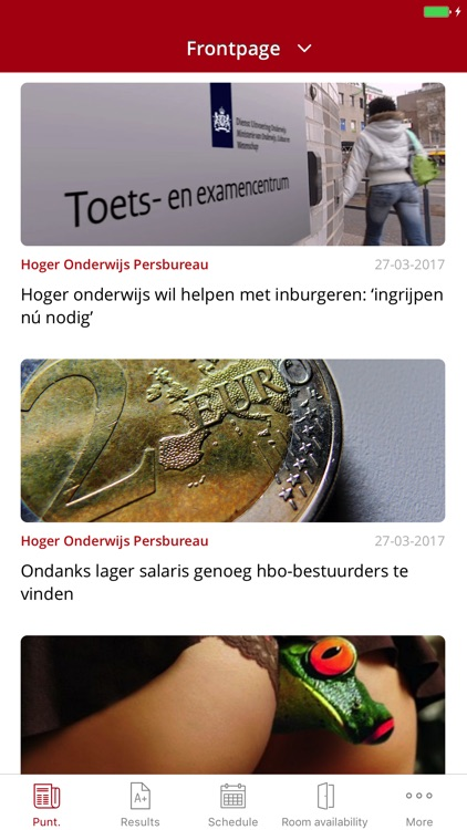 Mijn Avans screenshot-2