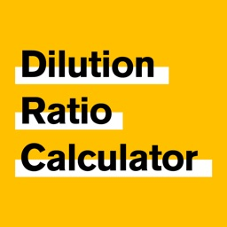 Dilution Ratio Calculator