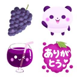 GrapePurple-Emoij