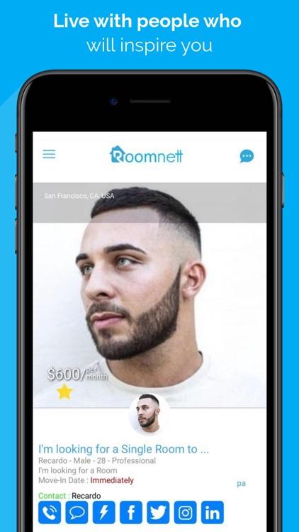 Roomnett: roommates-rooms screenshot-4