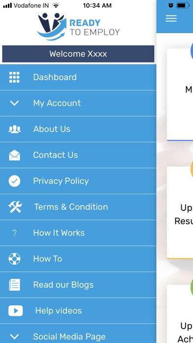 Screenshot for Ready To Employ in Viet Nam App Store
