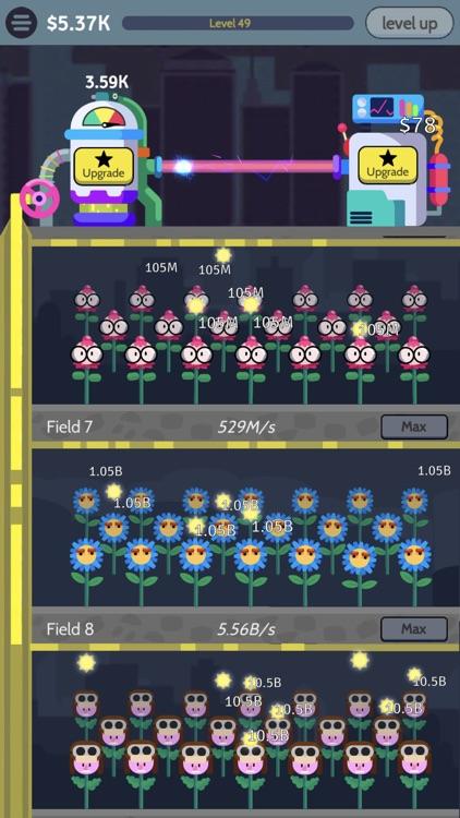 Sunflower Factory: Idle Tycoon screenshot-3