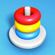 Sort Stack: Merge Color Hoop