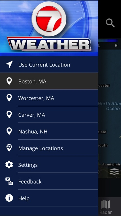 WHDH 7 Weather - Boston screenshot-4