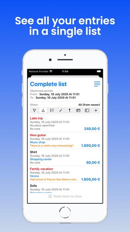 Purchases List screenshot-4