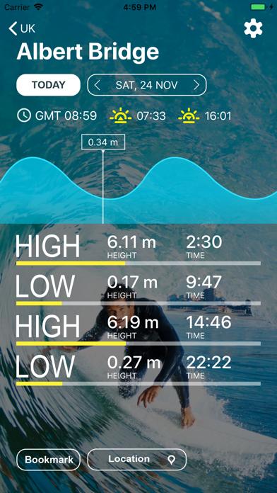 UK Tides - Tide Predictionsのおすすめ画像1