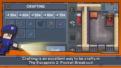 Screenshot for Escapists 2: Pocket Breakout in South Africa App Store