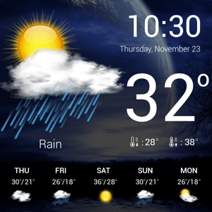 Weather : Weather forecast Weather app
