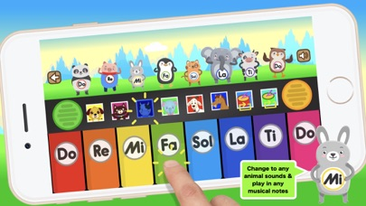 ぴあの 鍵盤 : 動物の音 知育のおすすめ画像4