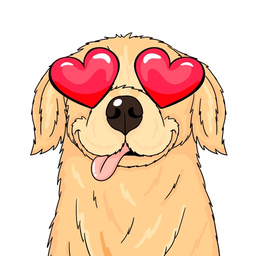 ParkerMoji - Golden Retriever