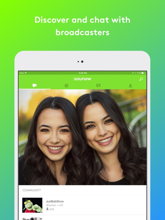 YouNow: Live Stream Video Chat-ipad-0