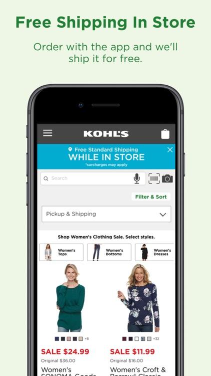Kohl's screenshot-4