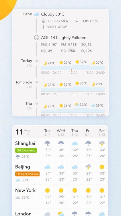 MyWeather - 10-Day Forecast screenshot-3
