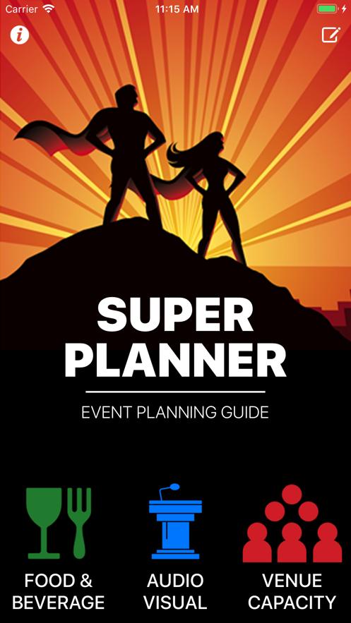 Super Planner - Event Planning App 截图