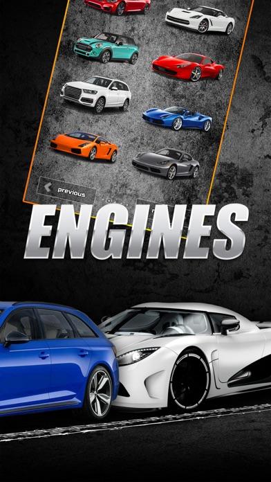 自動車エンジンの音
