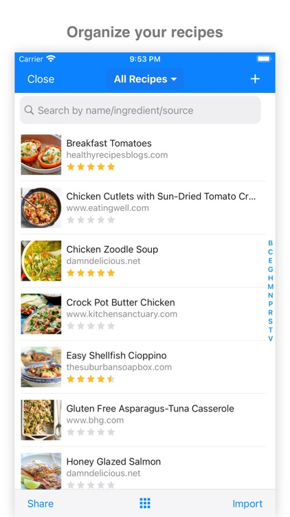 MealBoard - Meal Planner screenshot-1