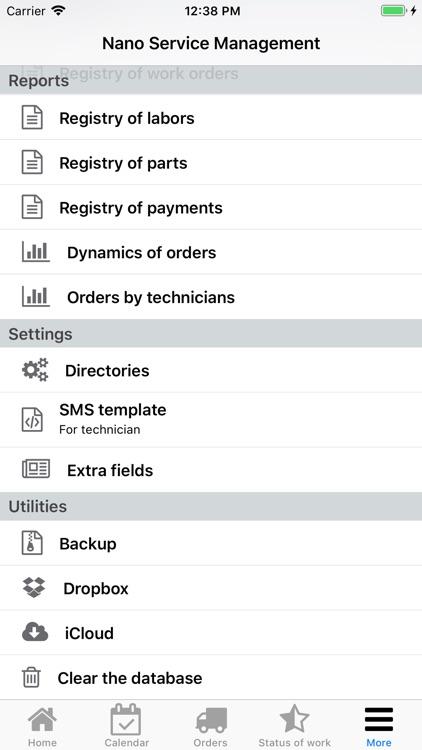 Nano Service Management screenshot-9