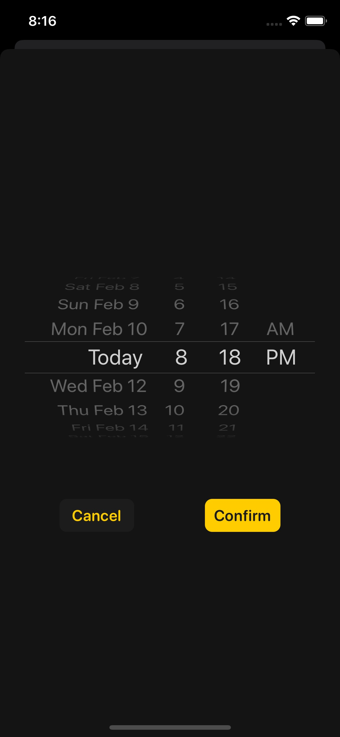 Screenshot do app Remind Me Faster