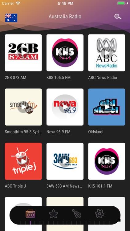 Australia Radio - Live FM Play