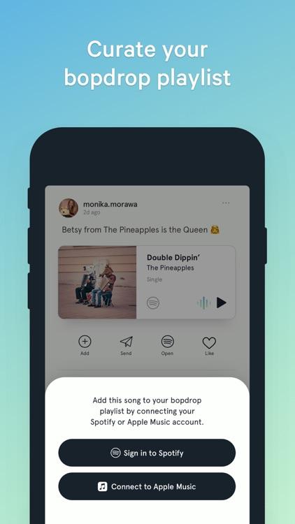 bopdrop - music discovery screenshot-4