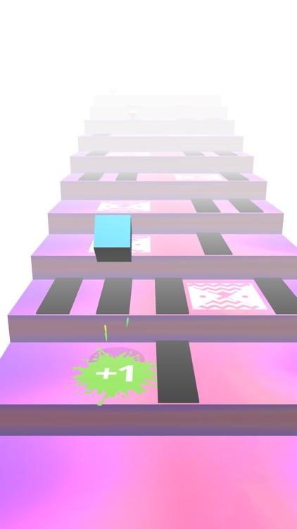 Cube Stars : Jump on stairs screenshot-3