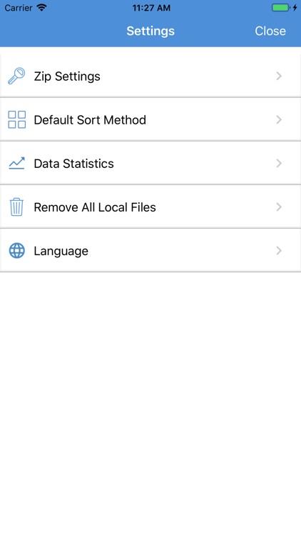 iZip - Zip Unzip Unrar Tool screenshot-5